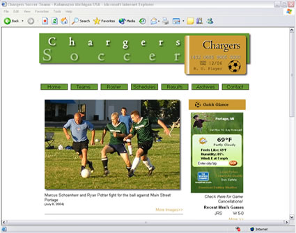Chargers Soccer